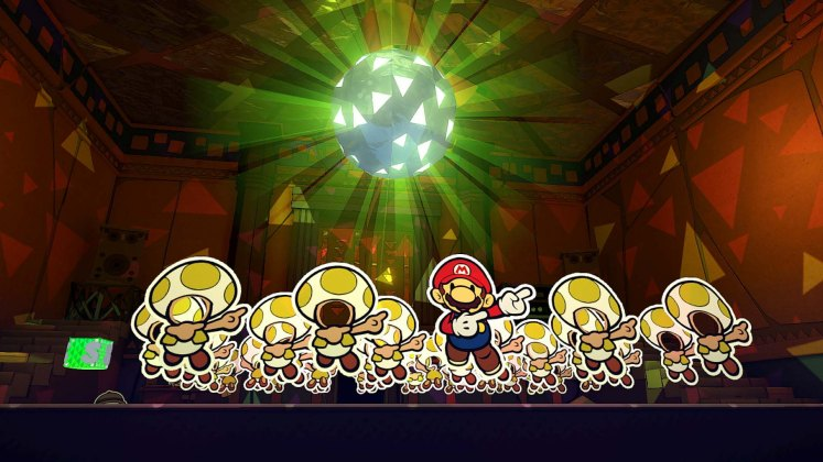 paper mario screenshot the origami king annonce