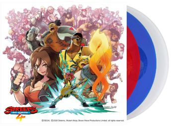 streets of rage 4 vinyle edition speciale