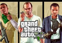 GTA 5 artwork PS5 Xbox Series X
