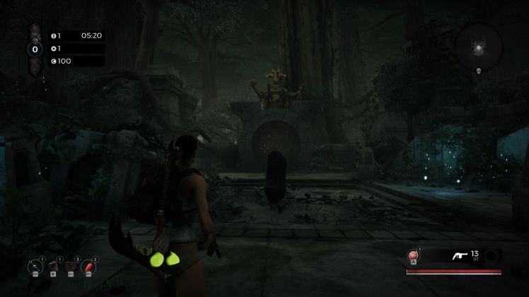 screenshot test Remnant From the Ashes Swamps of Corsus