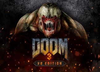 DOOM 3 VR Edition key art