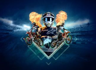 Monster energy supercross 4 key art