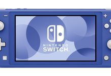 Nintendo Switch Lite Blue image annonce
