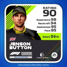 F1 2021 driver card edition deluxe