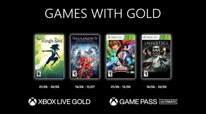 xbox games with gold juin 2021