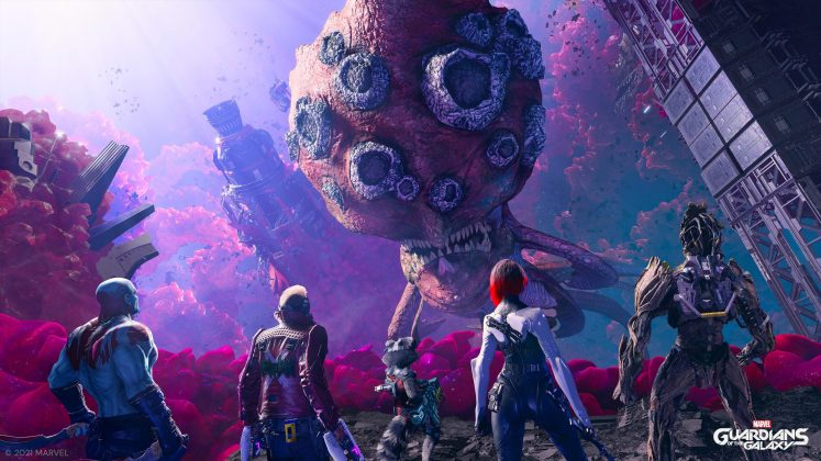 Marvel's Guardians of the Galaxy screenshot annonce