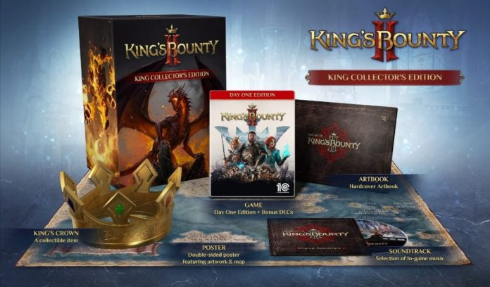 king's bounty 2 king's collector edition visuel