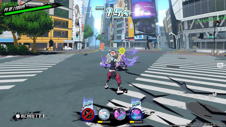 NEO : The World Ends with You screenshot test PS4