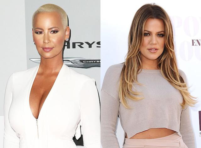 Amber-Rose-Khloe-Kardashian-Guerre-jewanda