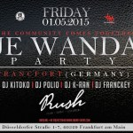 Wand'Event : DJ Kitoko et DJ Polio aux platines de Je Wanda Party Francfort !
