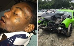 People : Offset victime d'un accident de voiture
