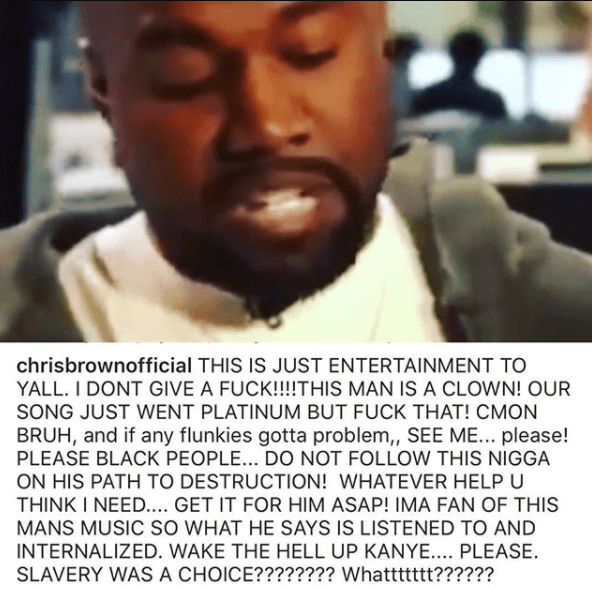 chris brown clashe kanye west jewanda - People : Chris Brown clashe violement Kanye West