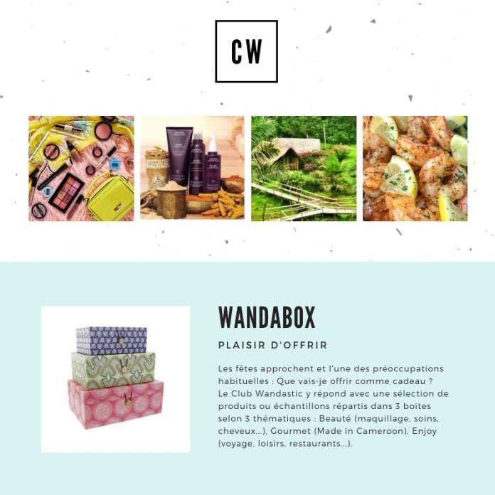 Club Wandastic : WandaBox, ou le plaisir d'offrir