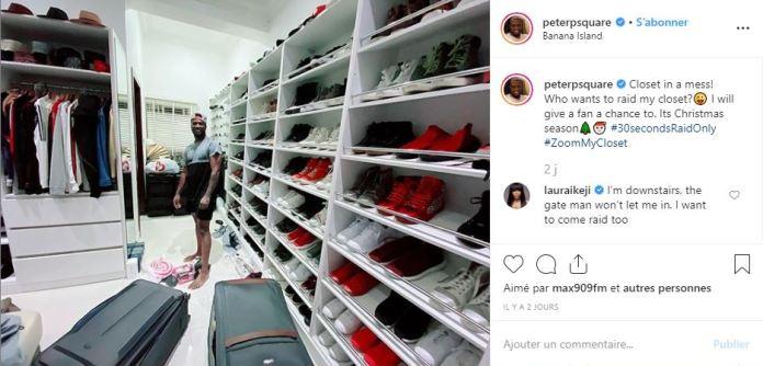 People : Peter Okoye Offre Un Cadeau De Noël Très Spécial À Un Fan