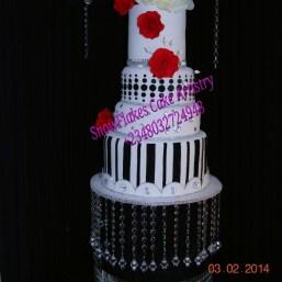 Nigerian-wedding-top-wedding-cake-baker-Snow-Flakes-Cake-Artistry-Port-Harcourt-3