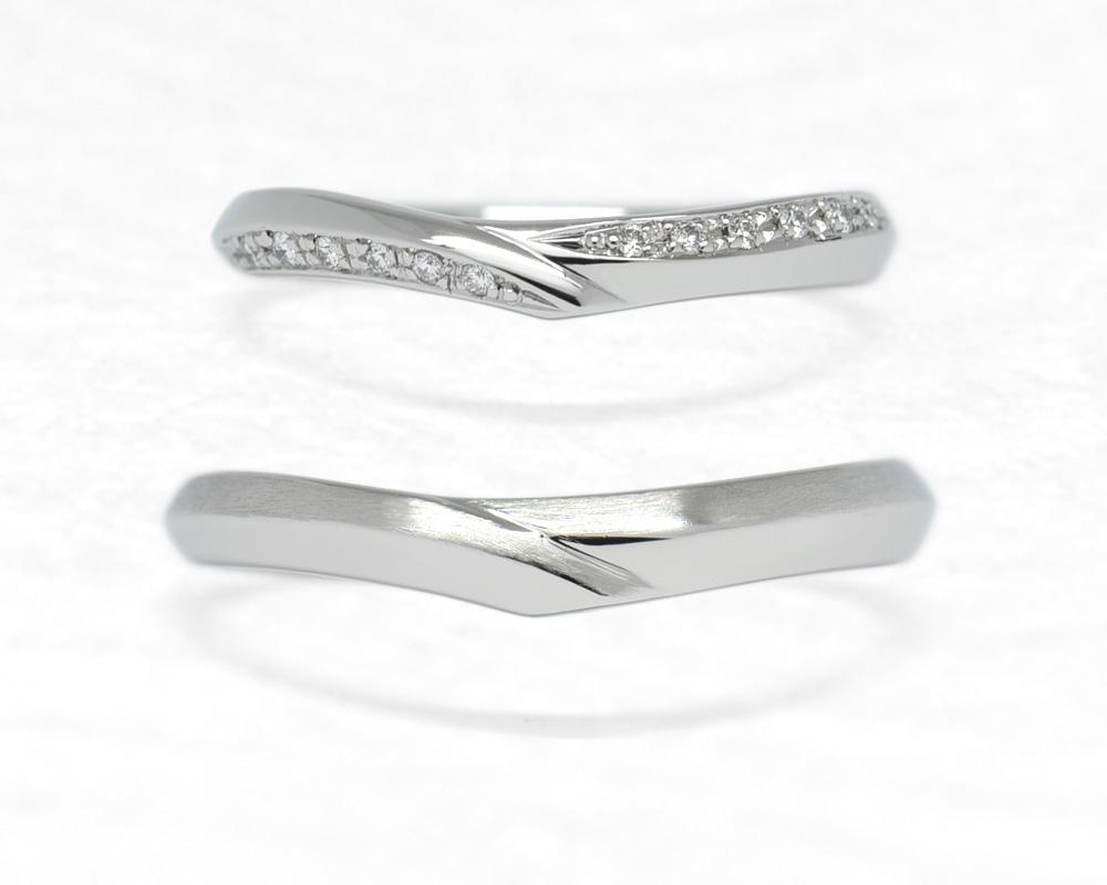 ひな結婚指輪四万十