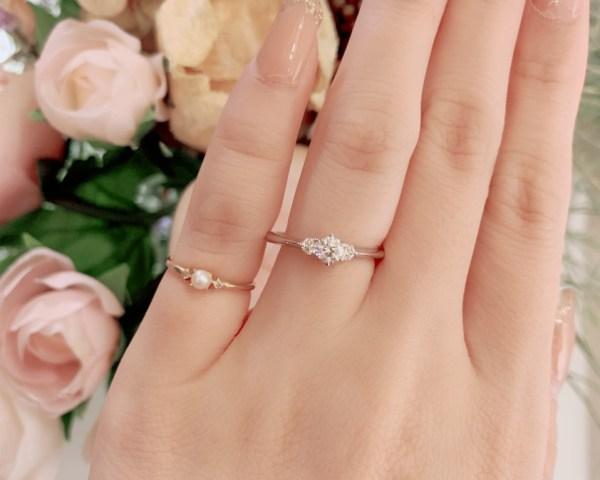 婚約指輪の人気デザイン☺❤