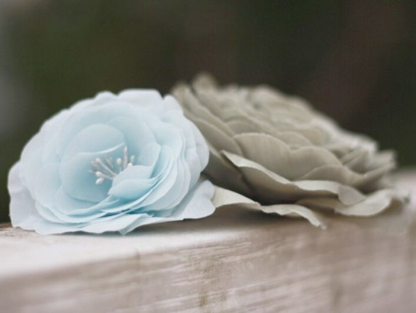 Hand Cut and Hand Pressed Flower | A Millinery Silk Flower Tutorial