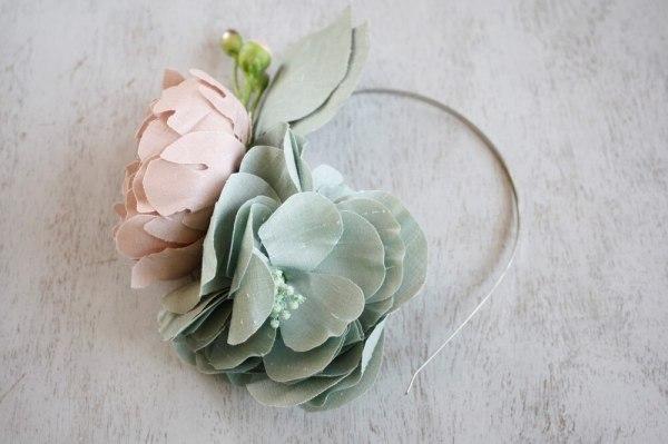 Fabric Flower Pattern Tutorial Ranunculus for diy wedding bouquets and fascinators