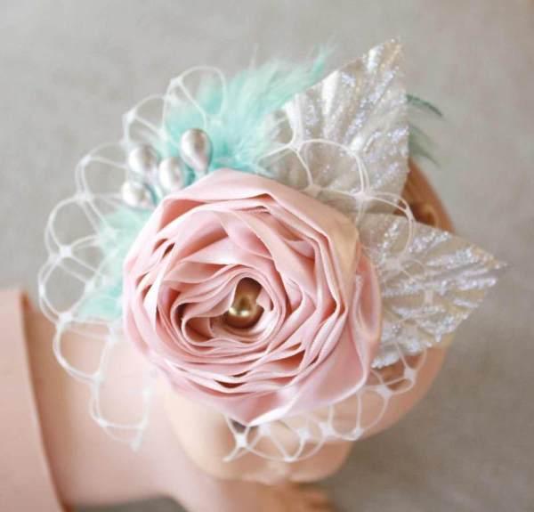 Sewing Pattern Tutorial : Ranunculus Fabric Flower
