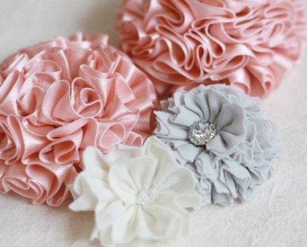 Create Flowers from fabric using the Ruffled Blossom Sewing Tutorial