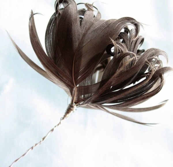 Make flowers from feathers | An easy to follow tutorial by Jewel Box Ballerina