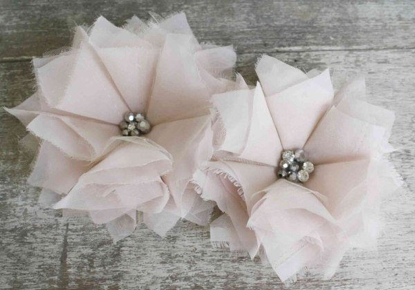 How to make fabric flowers | Carnation Tutorial