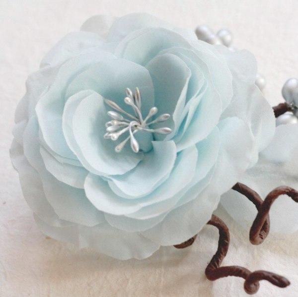 A Beautiful Hand Pressed Fabric Rose Tutorial