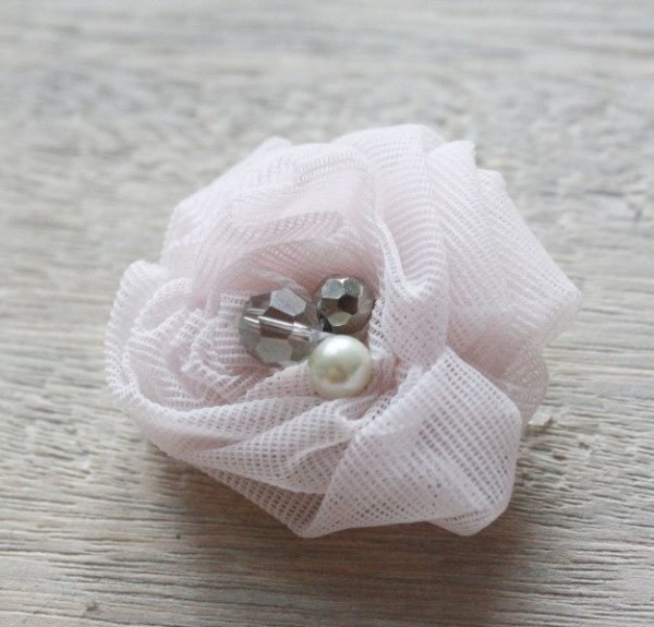 How to Make the Ruched Rosette Fabric Flower