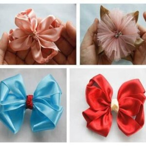 Different Styles of Lucia Hair Bows Tutorial