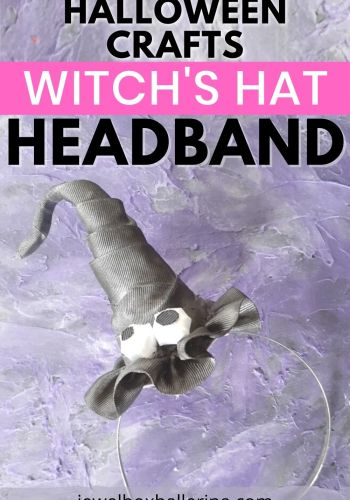 halloween crafts witchs hat headband