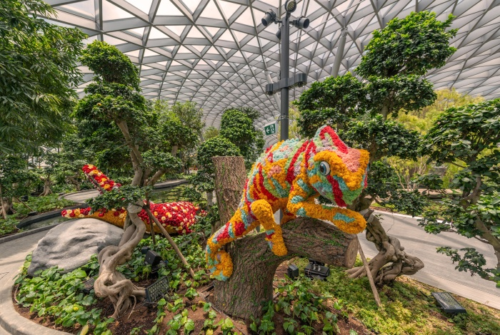 Image result for topiary walk jewel changi