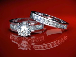 James Allen Wedding Ring Set