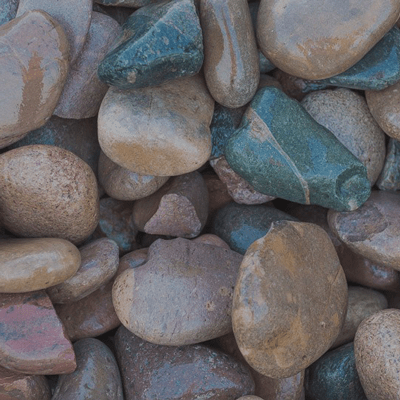 New Mexico River Rock Image