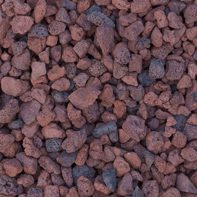 Red Lava Rock Image