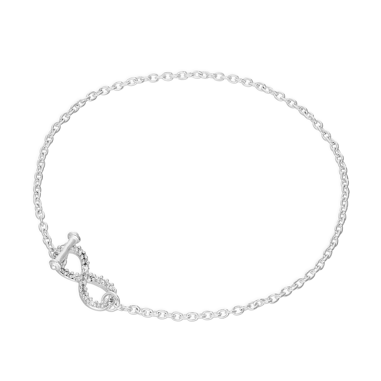Real 925 Sterling Silver 7 5 Inch Bracelet Plain Simple