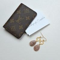 Clover Earrings Beige  Jewellery by Sophie