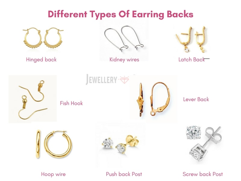 Different Types Of Earring Backs & Tips To Avoid Losing