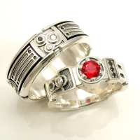 20+ Movie Inspired Wedding Rings Awesome Geeky Couples!