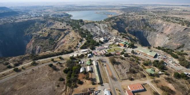 Kimberley underground mines