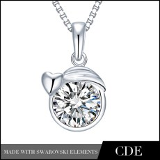 Wholesale_925_Sterling_Silver_Virgo_Necklace_Pendant