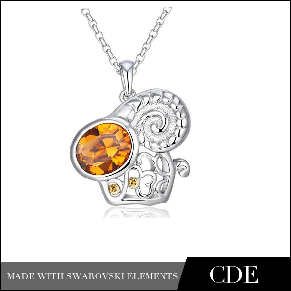 Wholesale_Factory_Direct_Chinese_Zodiac_Sheep_Necklace