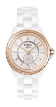 Chanel-J-12-365-White-Ceramic-Diamond-Gold-Watch-H3843