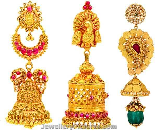 Earrings Buttalu Designs by Joyalukkas