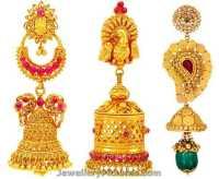 Earrings Buttalu Designs by Joyalukkas - Jewellery Designs