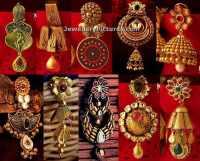 Kalyan Jewellers Earrings Designs - Jewellery Designs