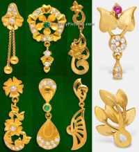 Earrings Designs in GRT Jewellers - Jewellery Designs