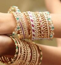 Diamond Bangles Latest Indian Jewelry - Jewellery Designs