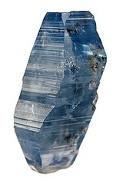 Blue Corundum Crystal