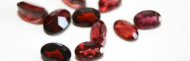 Garnet in Barbarian Jewelry
